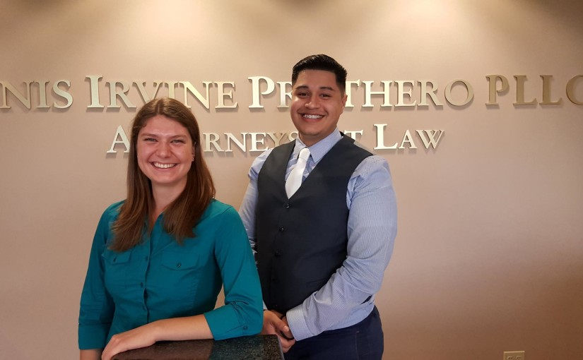 HIP is pleased to welcome new legal assistants